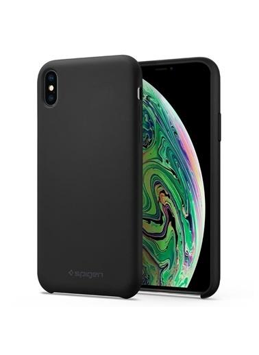 Spigen iPhone XS Max Kılıf, Silikon Fit Siyah